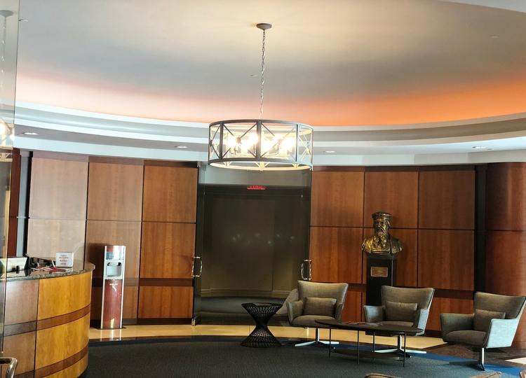Chandeliers/Pendant lights installation